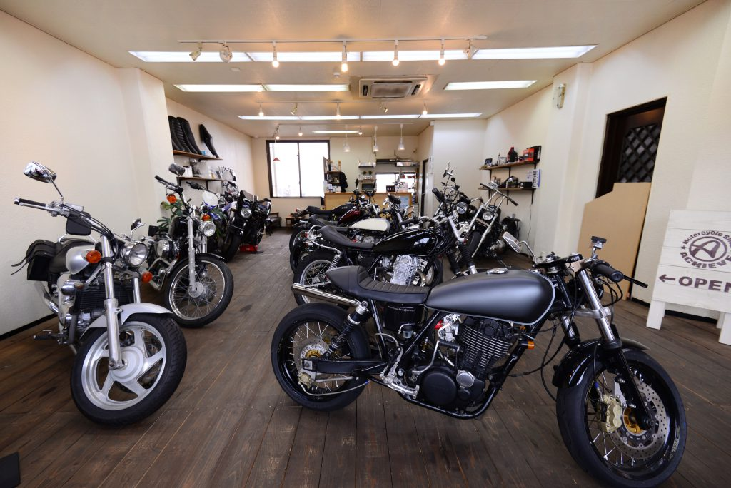 The Trendy Motorcycle Shop in Okinawa (Oyama, Ginowan City)