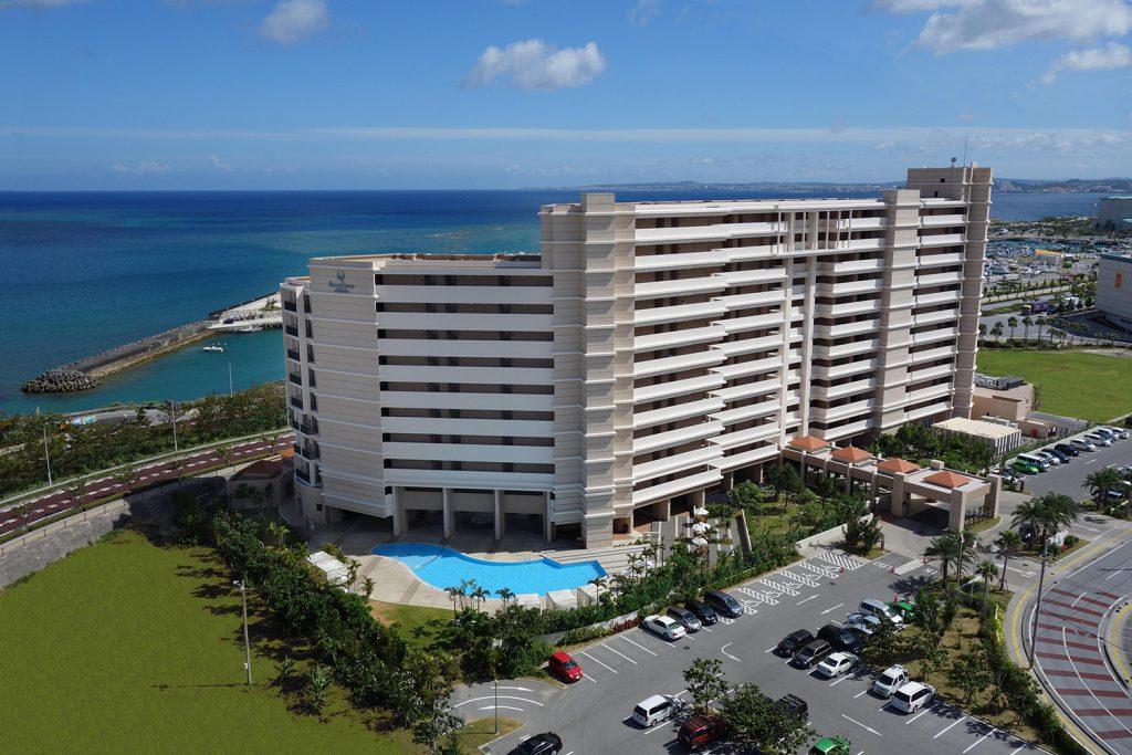 전실 오션뷰인 스타일리시한 호텔 Moon Ocean Ginowan Hotel & Residence  (기노완시 우치도마리)