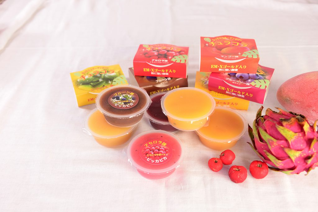 Enjoy our delicious collagen jelly! (Aichi, Ginowan City)