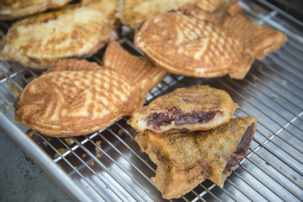 The revival of a special Taiyaki from a reputable food cart owner in Okinawa!