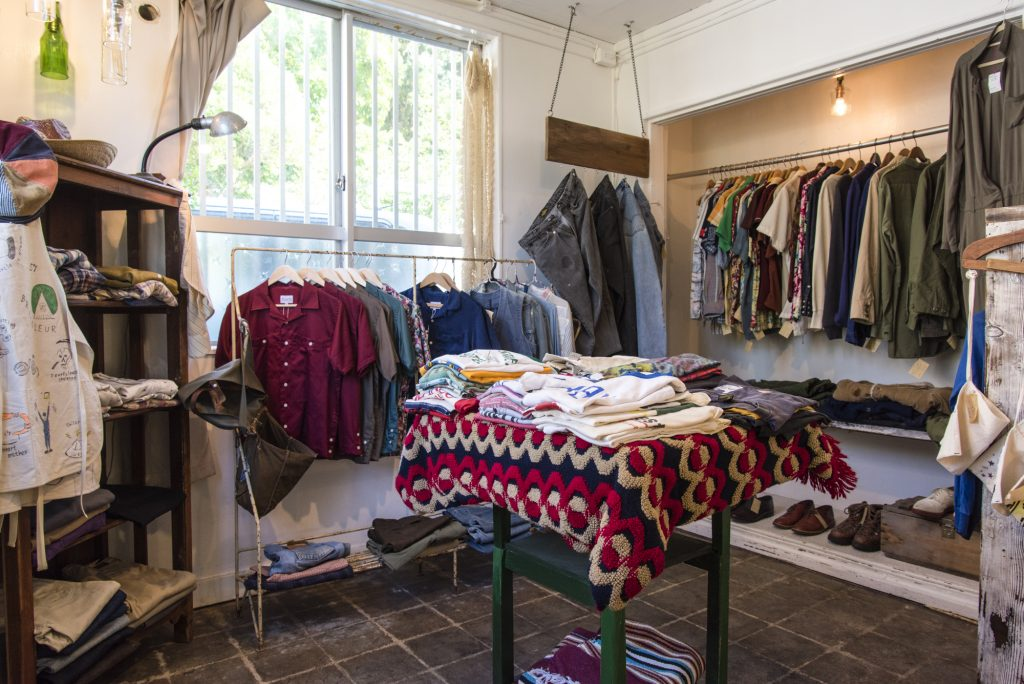 Once you have filled your belly, take a stroll around the shop to find some secondhand clothing that is perfect for you.