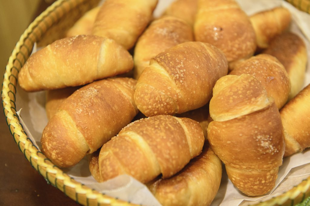 The most popular item is the shiopan (salt bread) that is rich in butter.